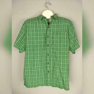The North Face Button Front Short Sleeve Shirt XL